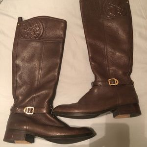 Tory Burch Riding Boots 9.5